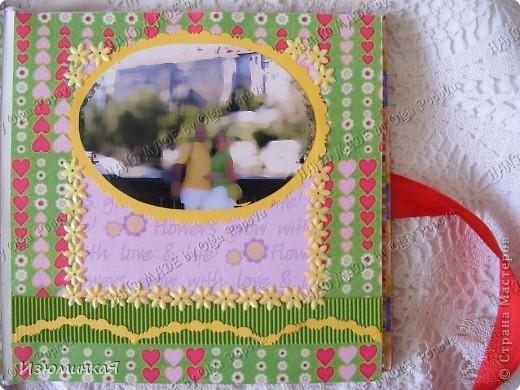 Это коробочка, в которой любимый получил свой подарок :) Украшения - атласные ленты и квиллинговый цветочек. фото 29