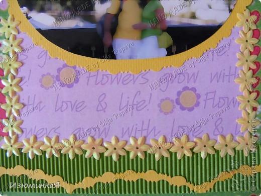 Это коробочка, в которой любимый получил свой подарок :) Украшения - атласные ленты и квиллинговый цветочек. фото 30