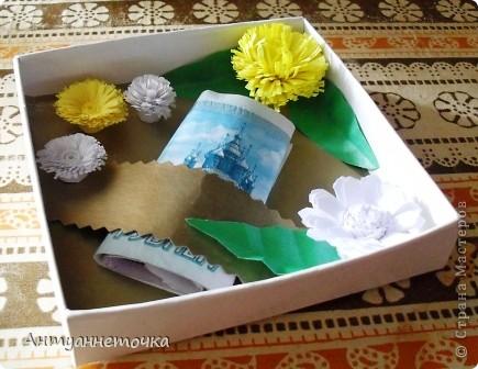 Коробочка для денег (первый опыт) фото 3