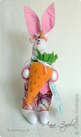 Морковный зай.