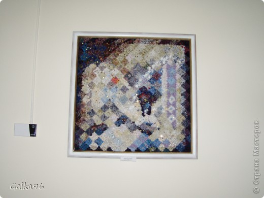 Вот была на очень незабываемой выставке, хочу поделится с Вами какой же надо быть одаренной что бы оживить картину)) фото 25