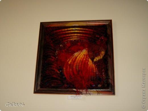 Вот была на очень незабываемой выставке, хочу поделится с Вами какой же надо быть одаренной что бы оживить картину)) фото 26