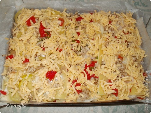 Доброе время суток Мастеряне!!Впервые решила поробовать сделать лазанью,но только без соуса бешамель, хотелось более овощного варианта. фото 12