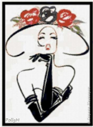 Дама в шляпе фото 2