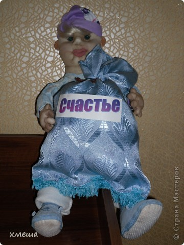 Кукла - пакетница. фото 1