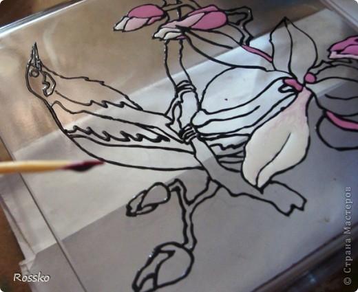 Сегодня я наконец-то размещу мастер-класс по росписи цветочков.Надеюсь он будет полезен и кто-то хоть что-то почерпнет из него. Собственно,начнем. фото 19