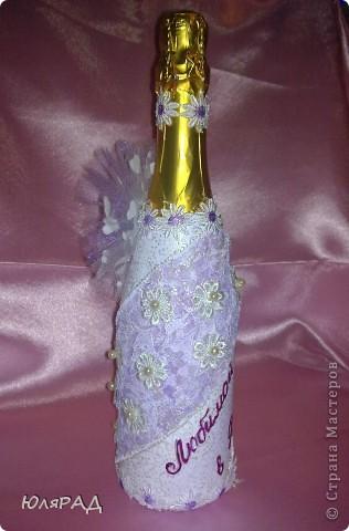 Такой подарочек я приготовила сестре на День рождения))) Сладкий букетик и шампусик))) фото 3