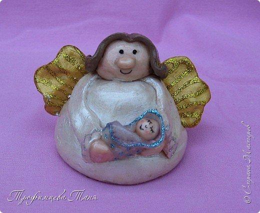 ангелочки из соленого теста фото 2