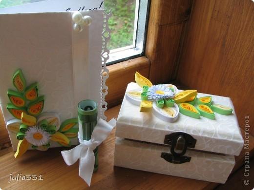 Открытка и коробочка для денег. фото 8