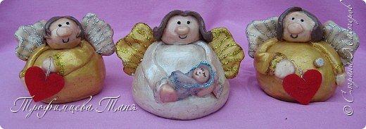ангелочки из соленого теста фото 3