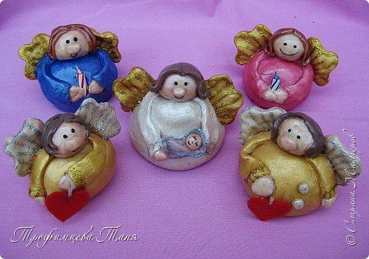 ангелочки из соленого теста фото 5