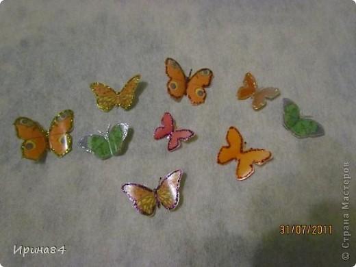 Бабочки из пластиковых бутылок фото 7