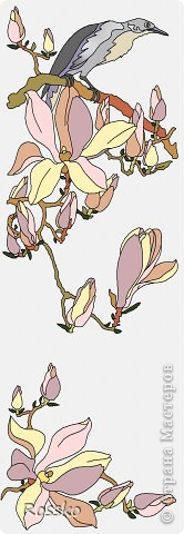 Декор предметов Мастер-класс Витраж Роспись Роспись вазы глухими витражными красками Краска Стекло фото 28