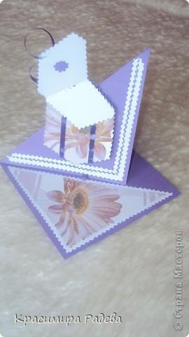 Ето я и моята картичка с подаръкДано да ви хареса. фото 3
