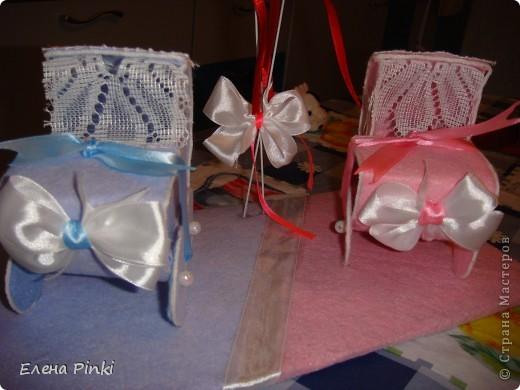 Вот столько колясочек разъехались по своим адресатам на свадьбы!! фото 6