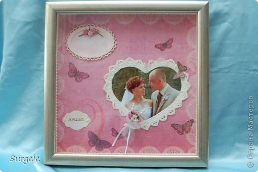 Случилась у нас тут годовщина свадьбы.И как-то у меня вдруг взяла и сделалась  такая вот страничка с нашей свадебной фоткой.. :-) фото 4