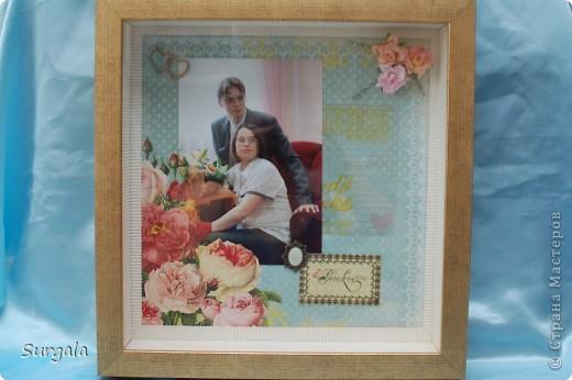 Случилась у нас тут годовщина свадьбы.И как-то у меня вдруг взяла и сделалась  такая вот страничка с нашей свадебной фоткой.. :-) фото 2