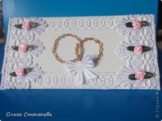 Свадебный ковертик фото 3
