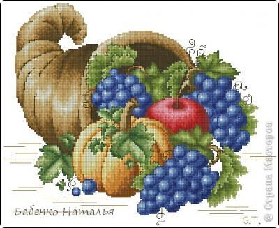 Картина панно рисунок День рождения Лепка Рог изобилия Тесто соленое фото 7.
