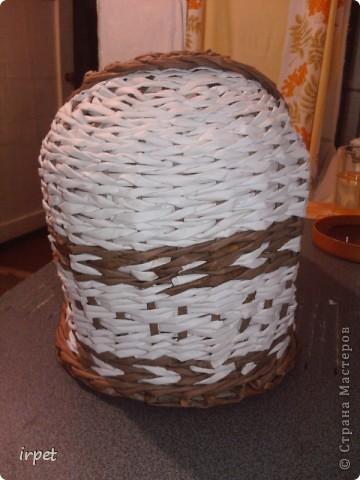 """Родилась племяшка, а для нее """"родилась"""" корзинка для пампесов на пеленальный столик. фото 3"""
