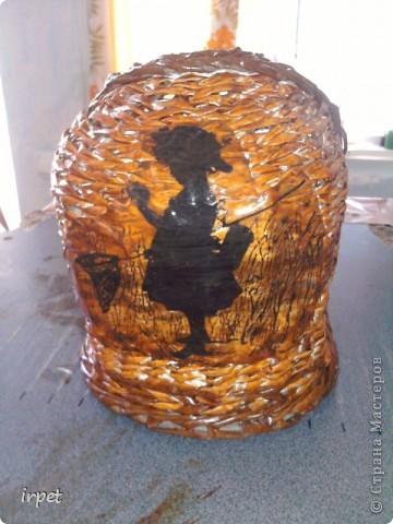 """Родилась племяшка, а для нее """"родилась"""" корзинка для пампесов на пеленальный столик. фото 5"""