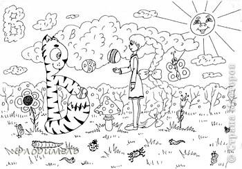 Продолжаю выкладывать рисунки букв. Если заинтересуетесь, то другие картинки смотрите по ссылке http://stranamasterov.ru/user/43706. фото 15