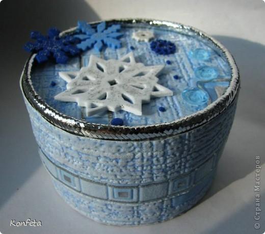 Шкатулка-зима фото 1
