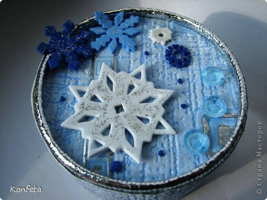 Шкатулка-зима фото 2