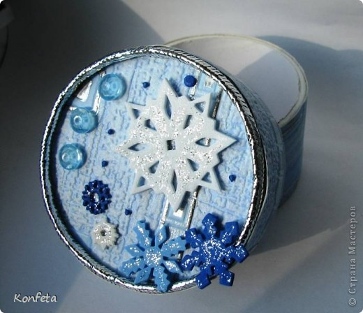 Шкатулка-зима фото 3