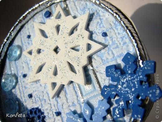 Шкатулка-зима фото 4