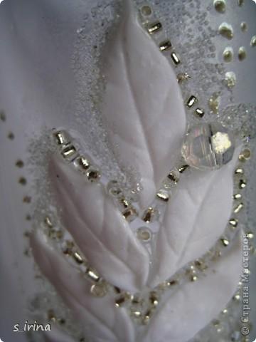 Свадебные бокал по мотивам платья невесты фото 4