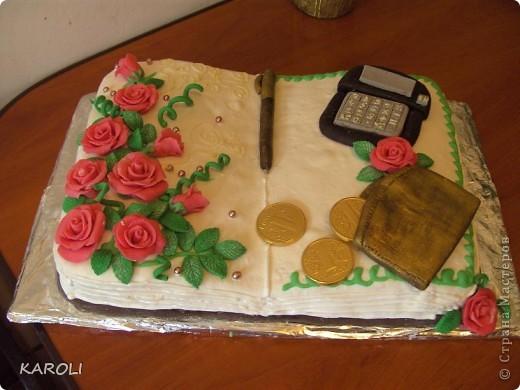 тортик для бухгалтера !!!!!!!!!!!!! фото 1