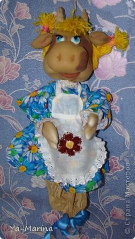 Кукла -пакетница Бурёнушка. фото 1