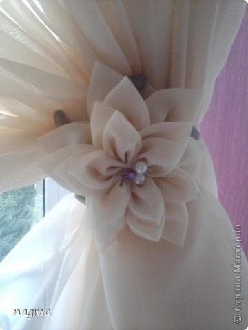 Мой первый опыт в пошиве штор. Вдохновили на работу МК asina! Спасибо большое!  фото 2