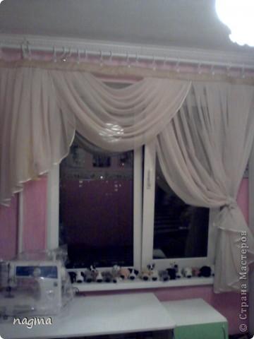 Мой первый опыт в пошиве штор. Вдохновили на работу МК asina! Спасибо большое!  фото 1