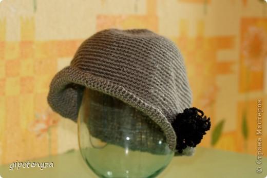 Шляпа серая фото 1