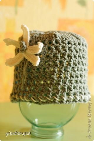 Шляпа серая фото 5