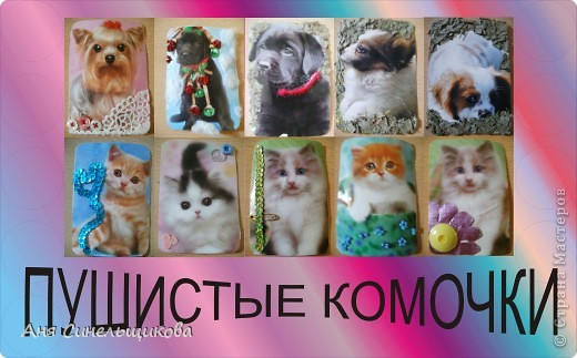 Эту серию мы посвятили нашим домашним животным: Масяне и Тиме, ведь они тоже когда-то были маленькими пушистыми котятами. фото 1
