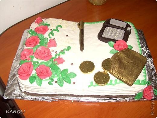 тортик для бухгалтера !!!!!!!!!!!!! фото 2