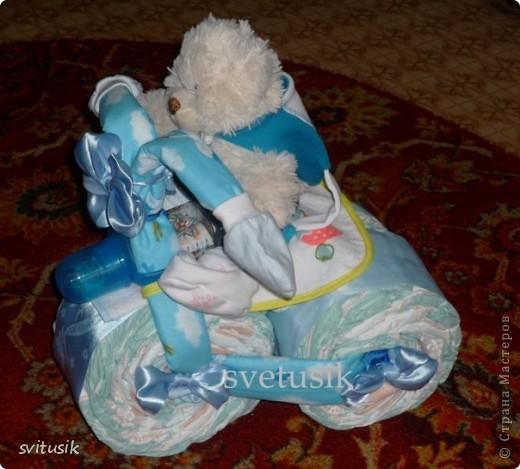Беби икебана  из детской одежды. фото 5