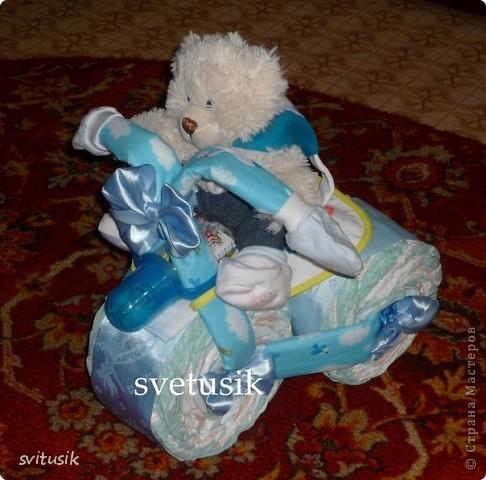 Беби икебана  из детской одежды. фото 4