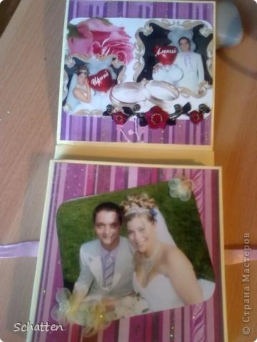 """Коллега попросила сделать """"что-нибудь"""" на первую годовщину свадьбы. В таких сучаях я прошу флешку с фотками, чтобы человек не знал, что конкретно я выберу. фото 3"""