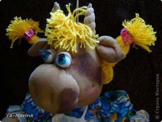 Кукла -пакетница Бурёнушка. фото 2