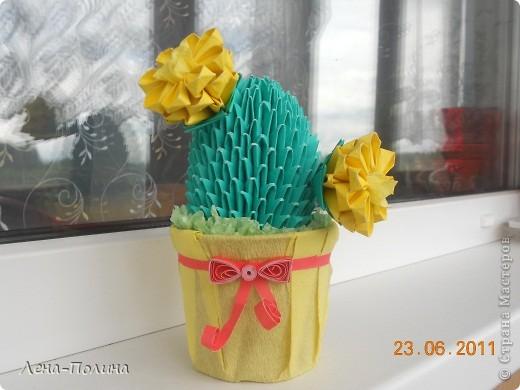 Цветы. Оригами модульное фото 4