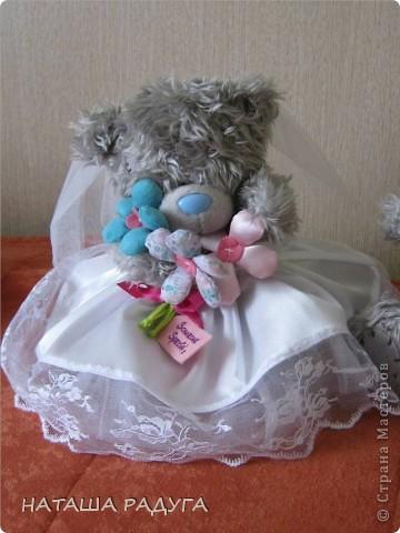 Наряд для свадебных мишек. фото 2