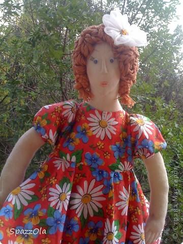 была у меня такая вот дама http://stranamasterov.ru/node/195180 решила ее изменить немного фото 3