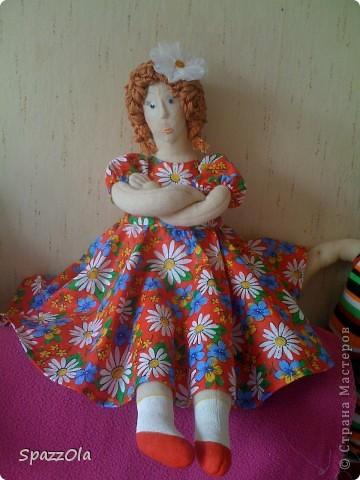 была у меня такая вот дама http://stranamasterov.ru/node/195180 решила ее изменить немного фото 1