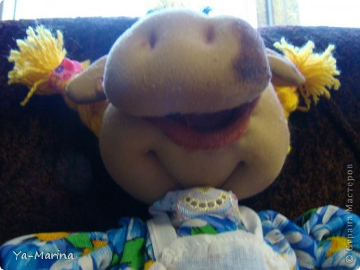 Кукла -пакетница Бурёнушка. фото 3