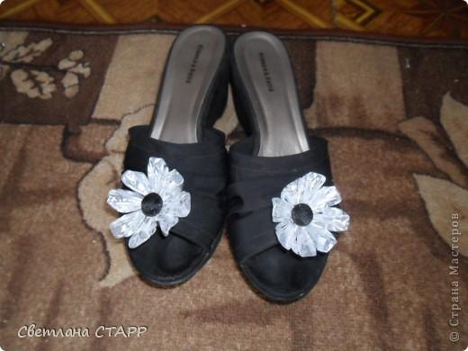 У сестры день рождения.Сделала ей подарки.Это украшение на туфли. фото 2