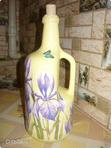 Вот такая получилась бутылочка... фото 2